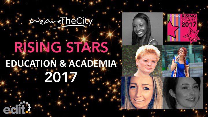 Over the moon! What an honour it is to be a winner of the  WeAreTheCity   #watctop100   #risingstaraward for my work in Education!  What a year it has been! Thank you to everyone that has shown me consistent support and love on this exciting journey! Congratulations to all the other winners!