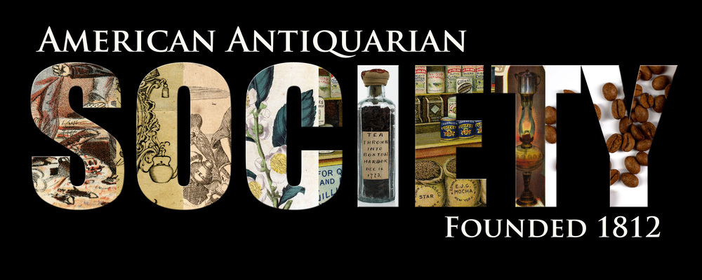 Coffee mug design for American Antiquarian Society, digital, 2014.