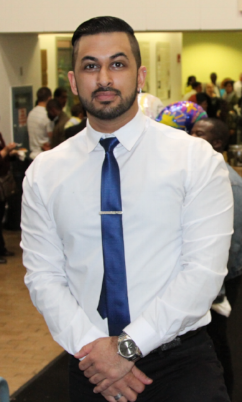 Vinod Kapur, PT, DPT - Vinod, otherwise known as Vinny, received his doctorate of Physical Therapy at SUNY Downstate Medical Center in 2016. Since 2010 Vinny has been treating patients for orthopedic and neurologic conditions.He is also a certified personal trainer and fitness instructor. He is a great therapist and addition to our RBNY family.Vinny works Monday through Thursday.