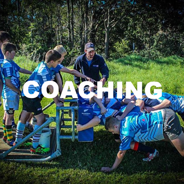 coaching..