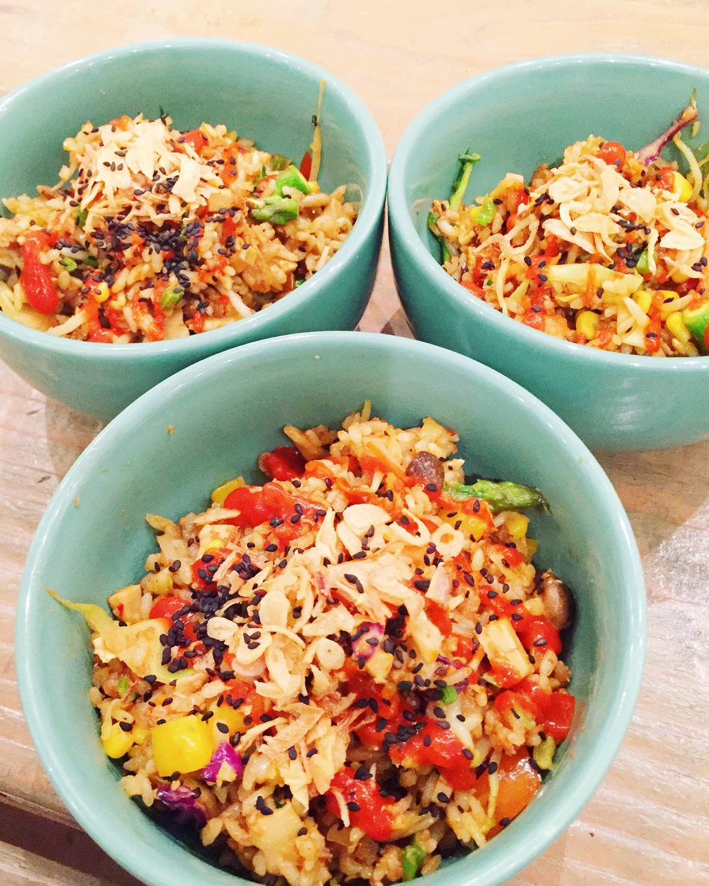 Sriracha Fried Rice by Chef Charles Chen
