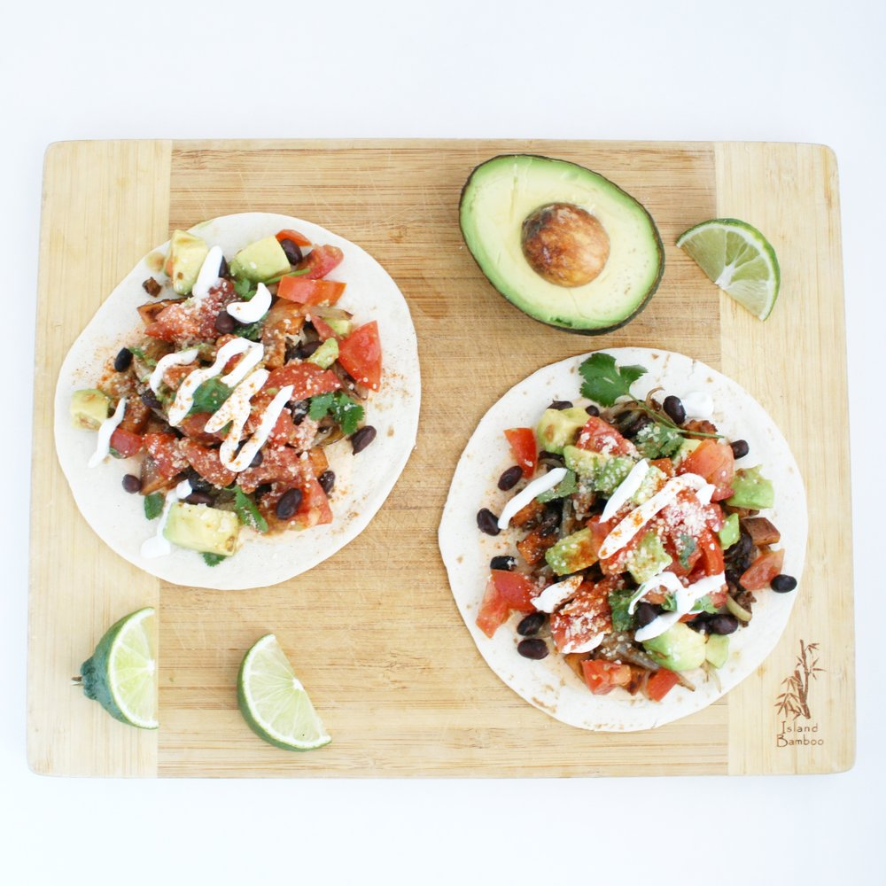 Black Bean Tacos by CharlesChen.tv
