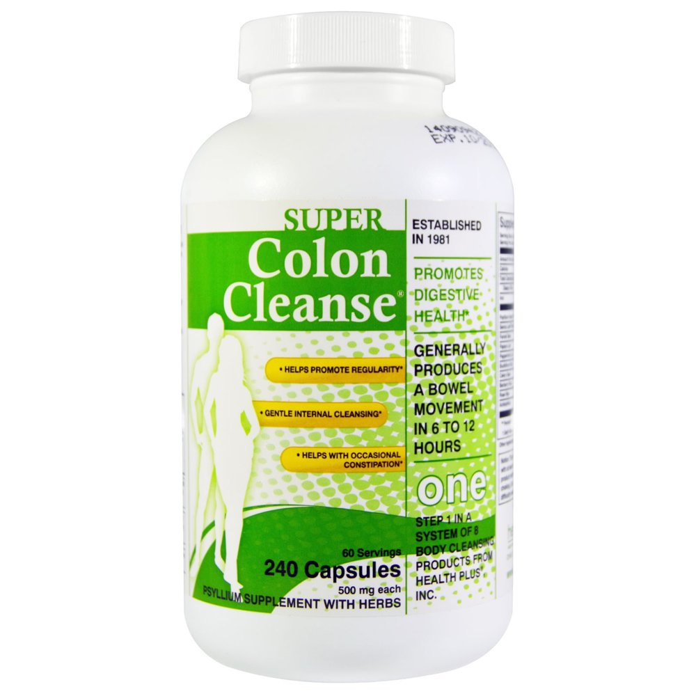 One time colon cleanse