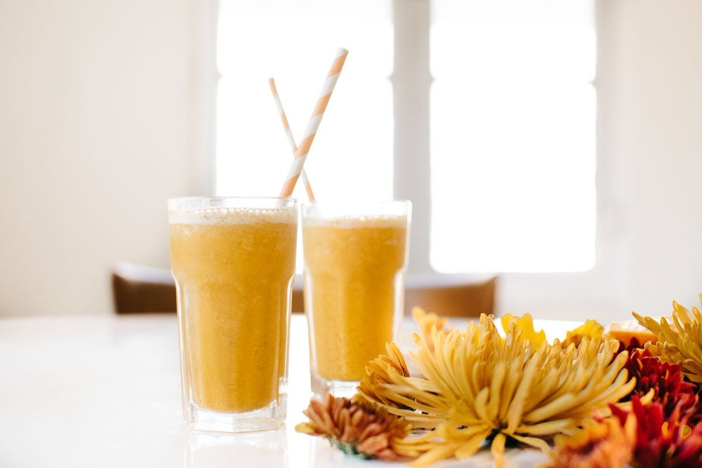How to Make Pumpkin Spice Smoothie