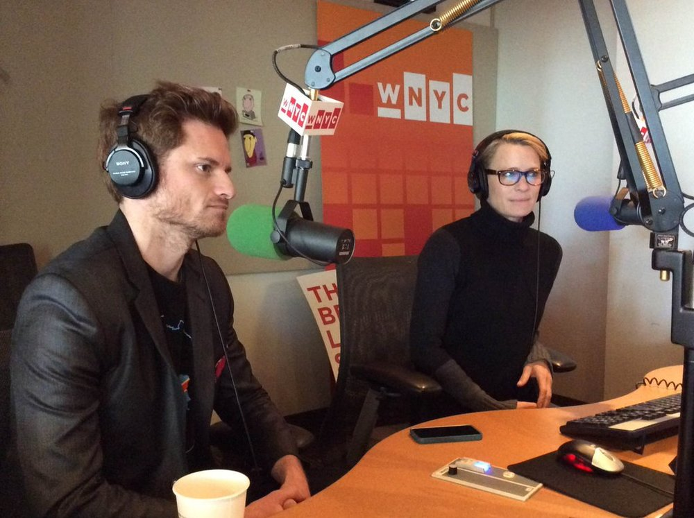 In The Brian Lehrer Show studio at WNYC
