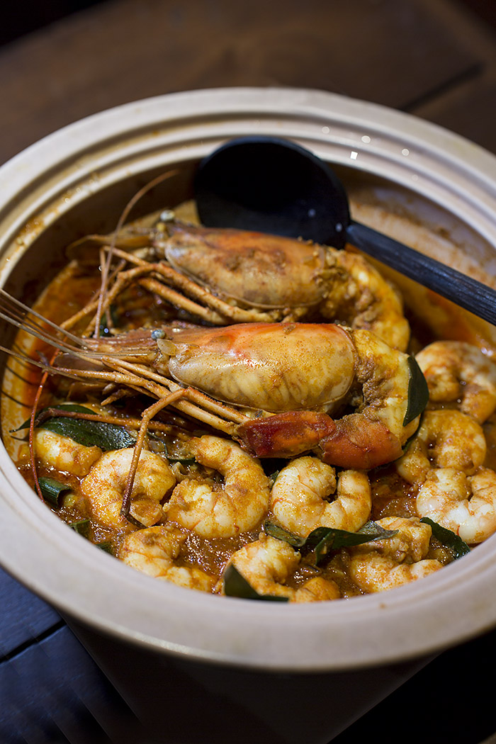 Claypot Prawns at The Ministry of Crab, Colombo