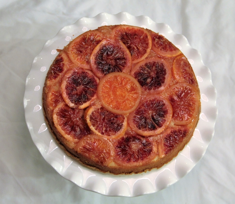 Blood Orange Almond Cake - SUCCESS!!