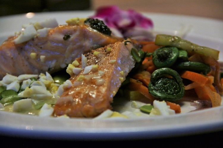 Salmon+Fiddleheads
