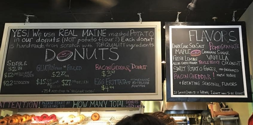 The+Holy+Donut+Menu