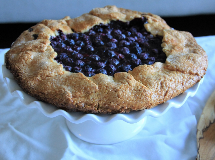 Blueberry+Cornmeal+Galette