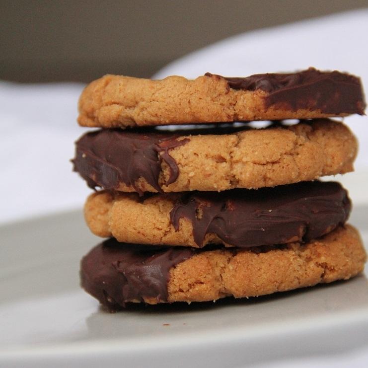 Flourless+Nut+Butter+Cookies