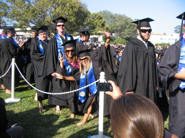UCSB Gauchos! Took four years to graduate... that's ahead of the curve in SB ;)