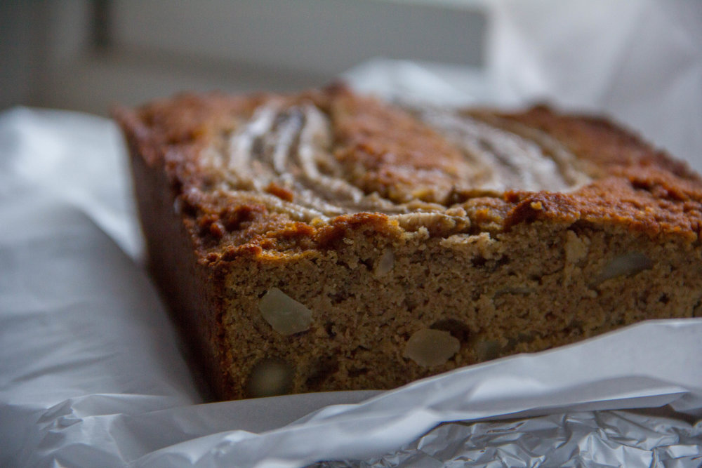 Paleo Banana and Macadamia Nut Bread... The Recipe!