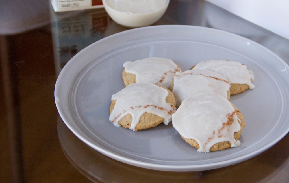 Eggnog Latte Cookies! A great recipe to add to the Christmas cookie list