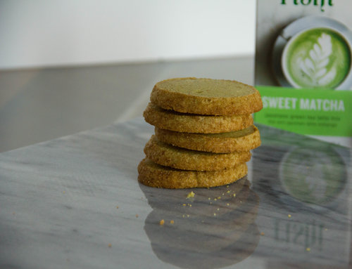 Matcha Pistachio Shortbread Cookie Recipe