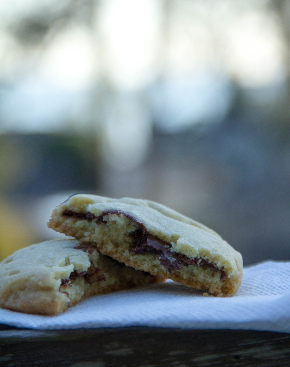 Nutella Stuffed Cookie Recipe