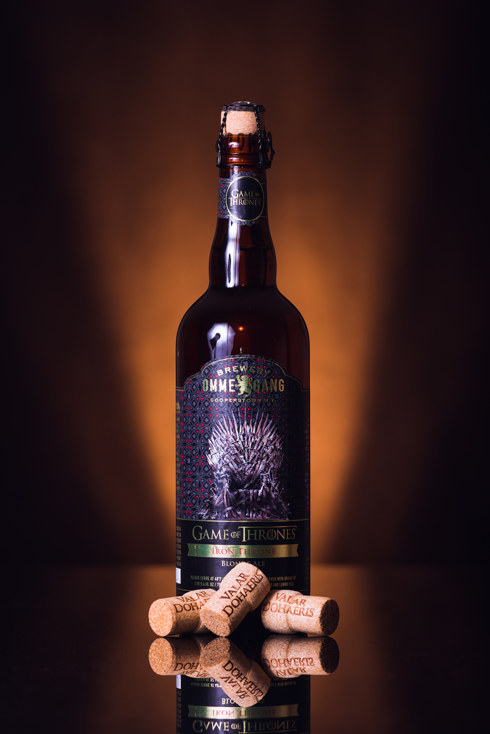 "Ommegang - Game Of Thrones ""Iron Throne Blonde Ale"""