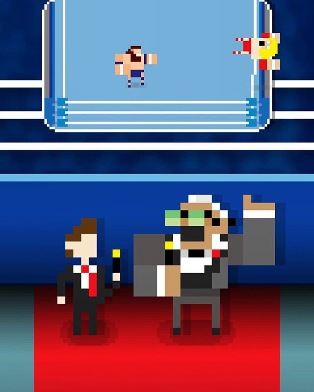 How to play and Keys to victory explained by W.E.P.W.A living legend and play by play commentator Bruno Typhoon.  #rumblefest #retro #picoftheday #prowrestling #howto #pixelart #gamedev #gamedevelopment #indiegames #indiegamedev #videogames #mobilegames #prowrestling #prowrestlingvideogames #willyoustop #givemeabreak #
