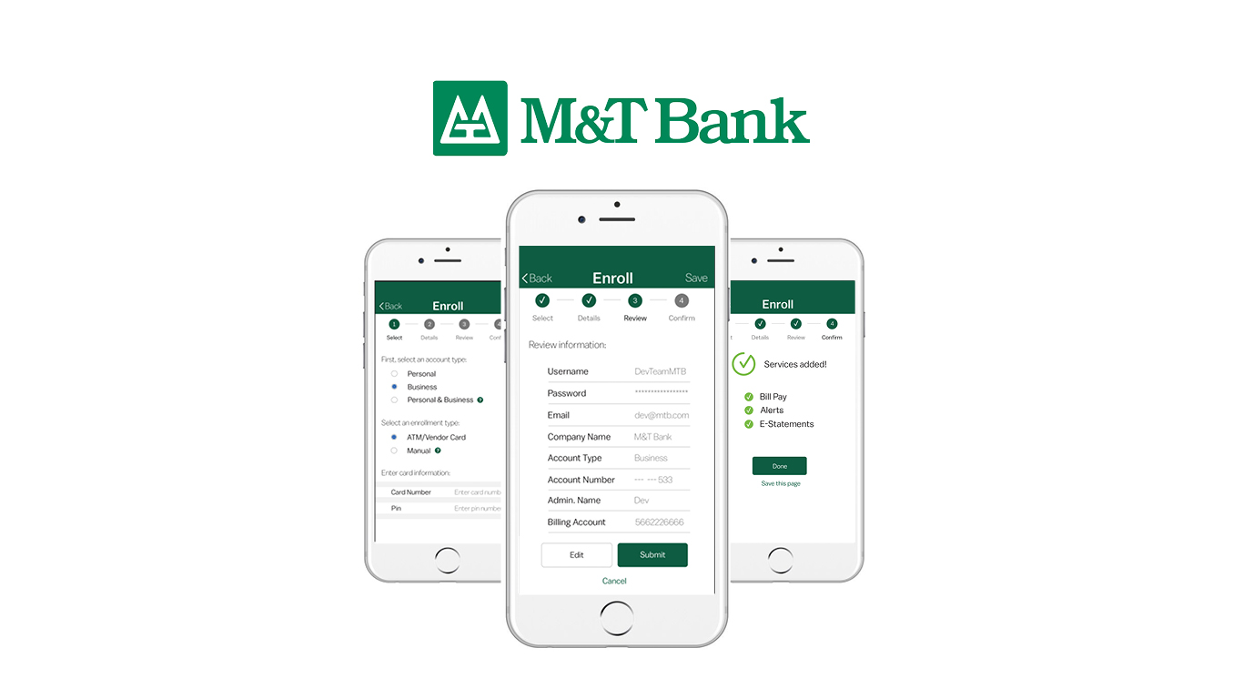 M&T Bank Application — Elizabeth Ciaccia Rintels