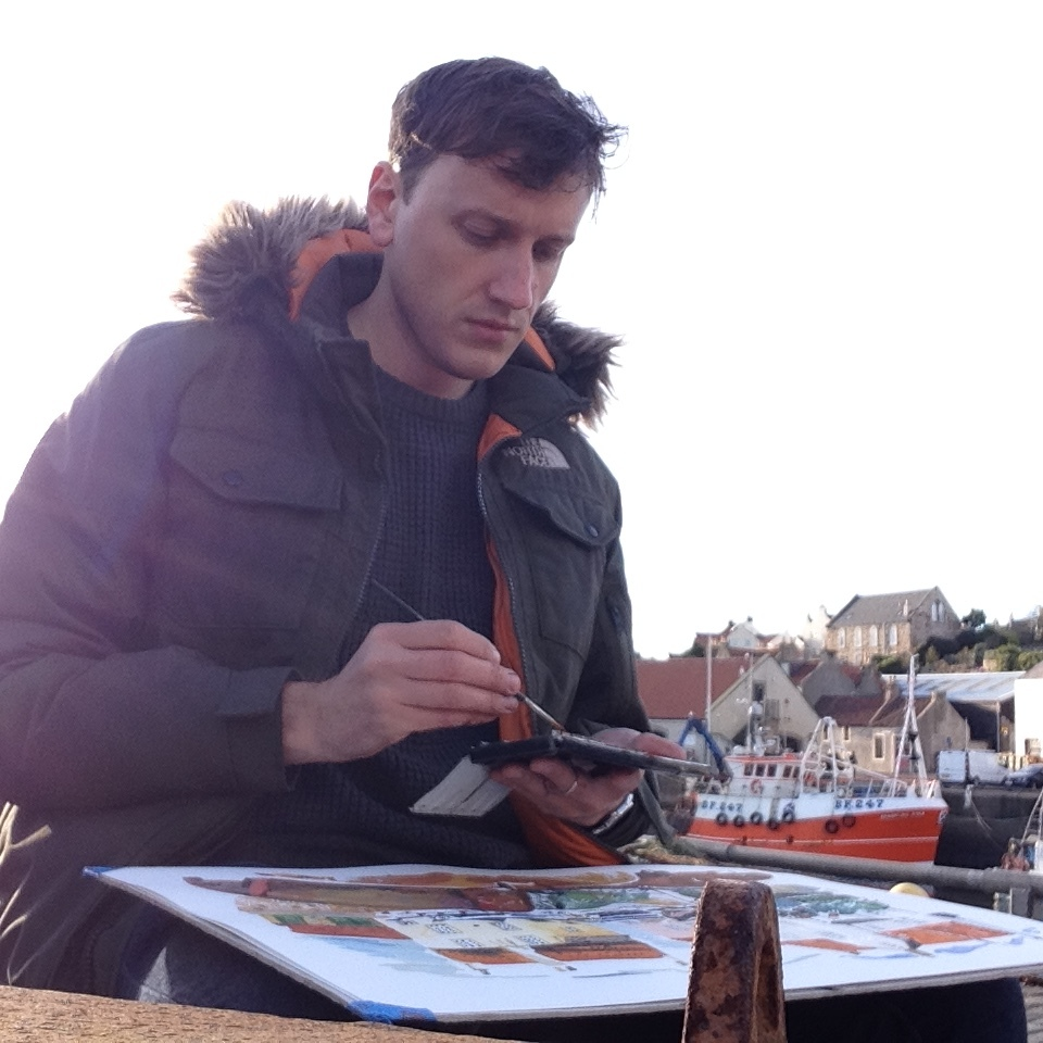Painting in Fife