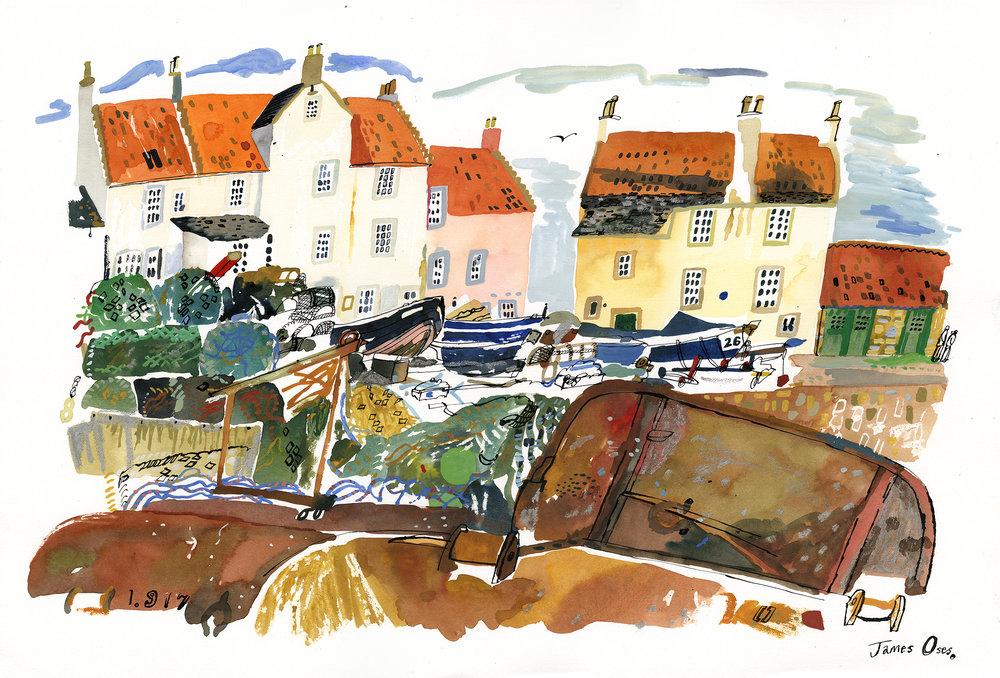 Pittenweem, Fife.
