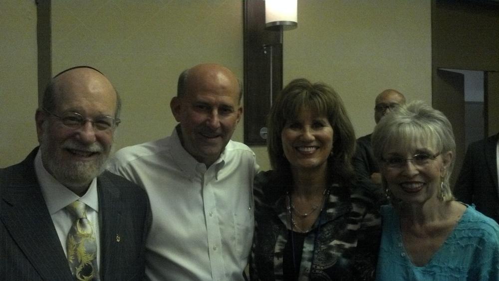 Louie Gohmert, Dran, Rabbi Aryeh Spero, Tommye.jpg