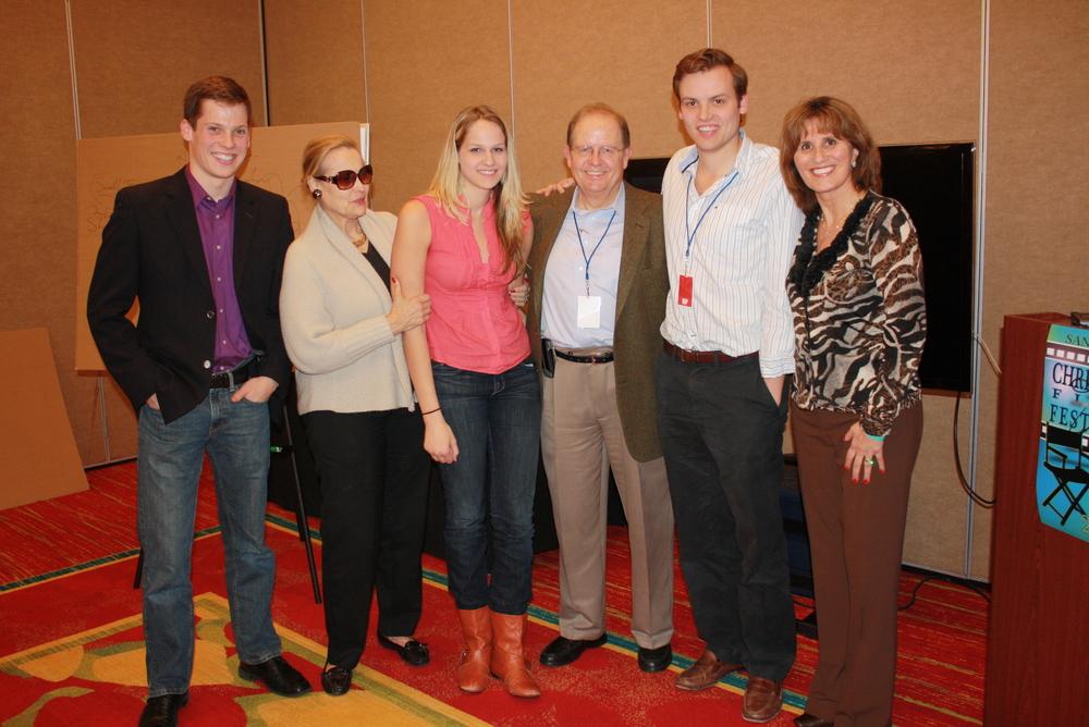 Ted Baehr +Family, John Marc LeDoux, Dran(1).JPG