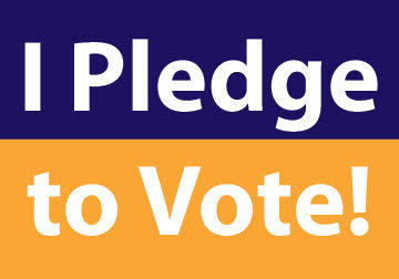 I Pledge To Vote