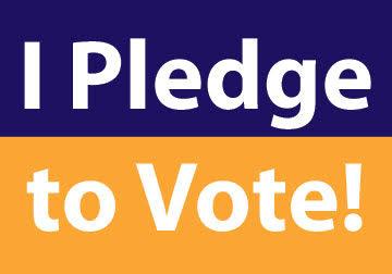 I Pledge To Vote