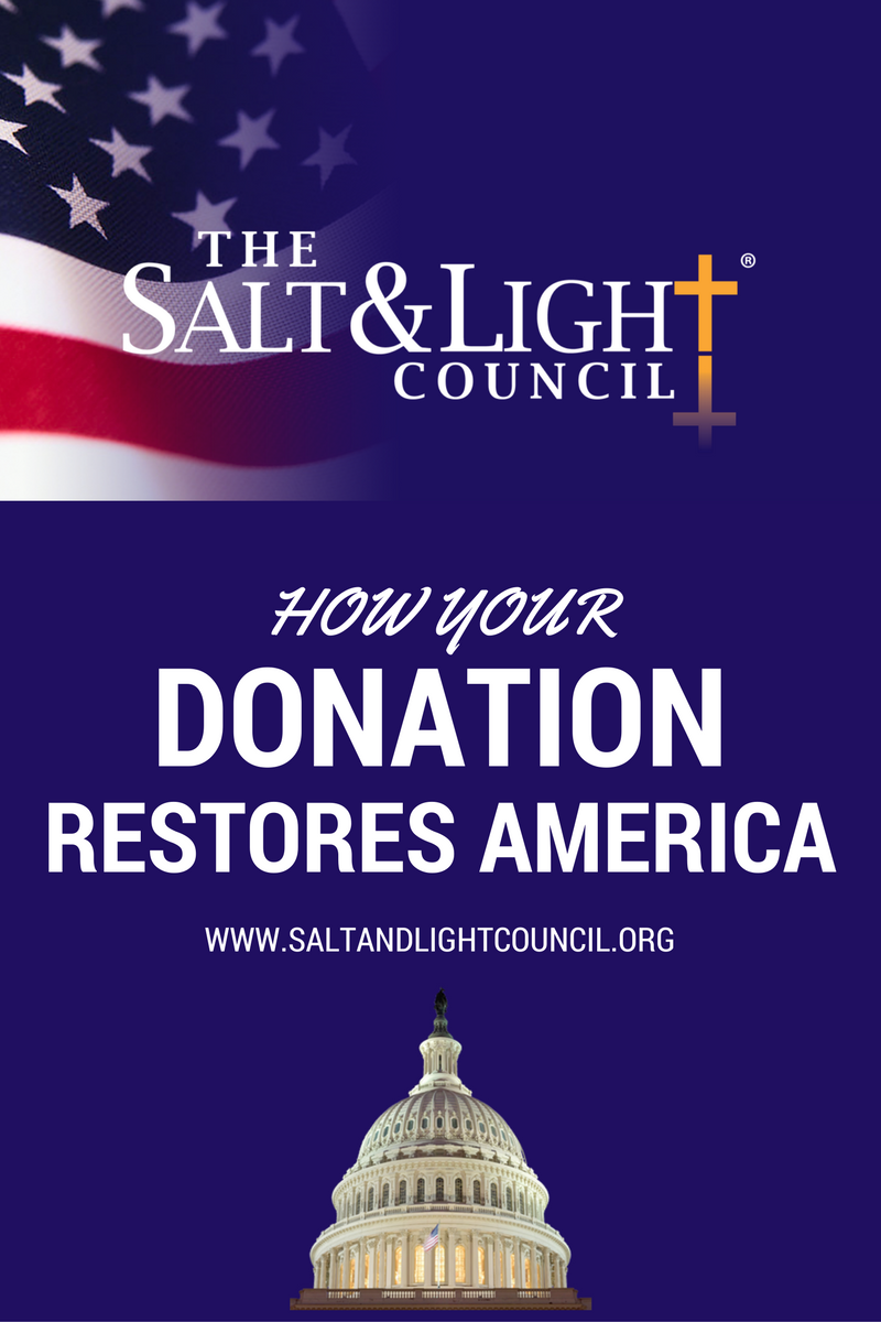 Salt & Light Council - Donation