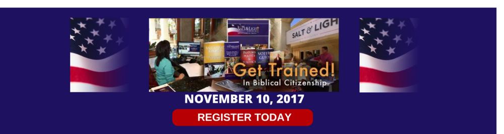 Biblical Citizenship Training