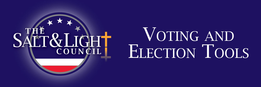 The Salt & Light Council Voting & Election Tools