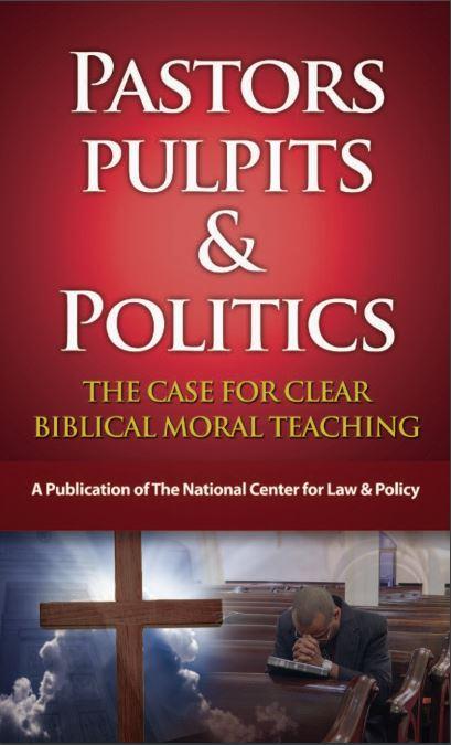 Pastors Pulpits & Politics Brochure