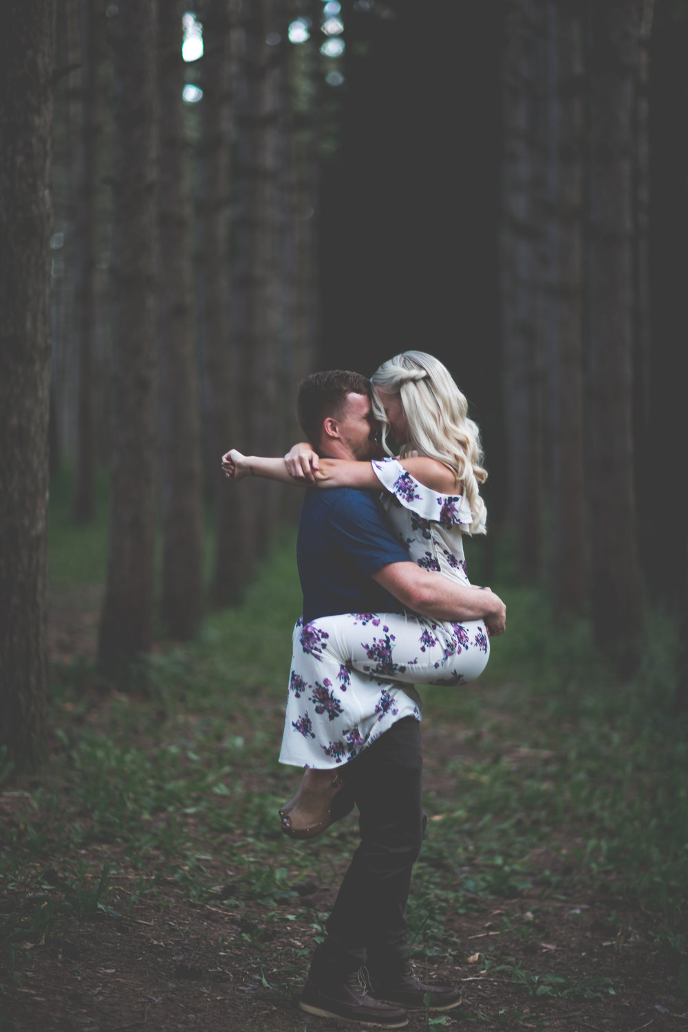 MANDY + JEFF - RETZER NATURE CENTER ENGAGMENT
