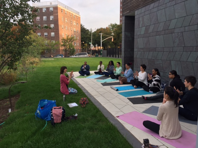 Morning Yoga with Rachel Costello of  Yo Re Mi
