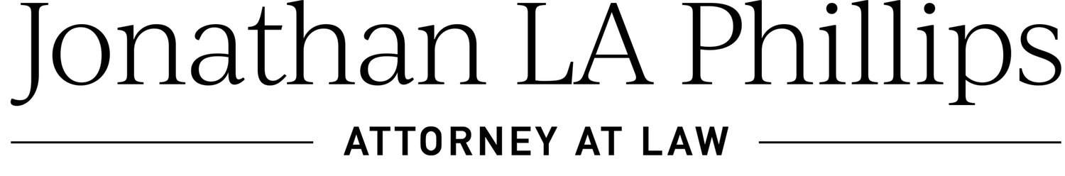 Jonathan LA Phillips, Attorney at Law