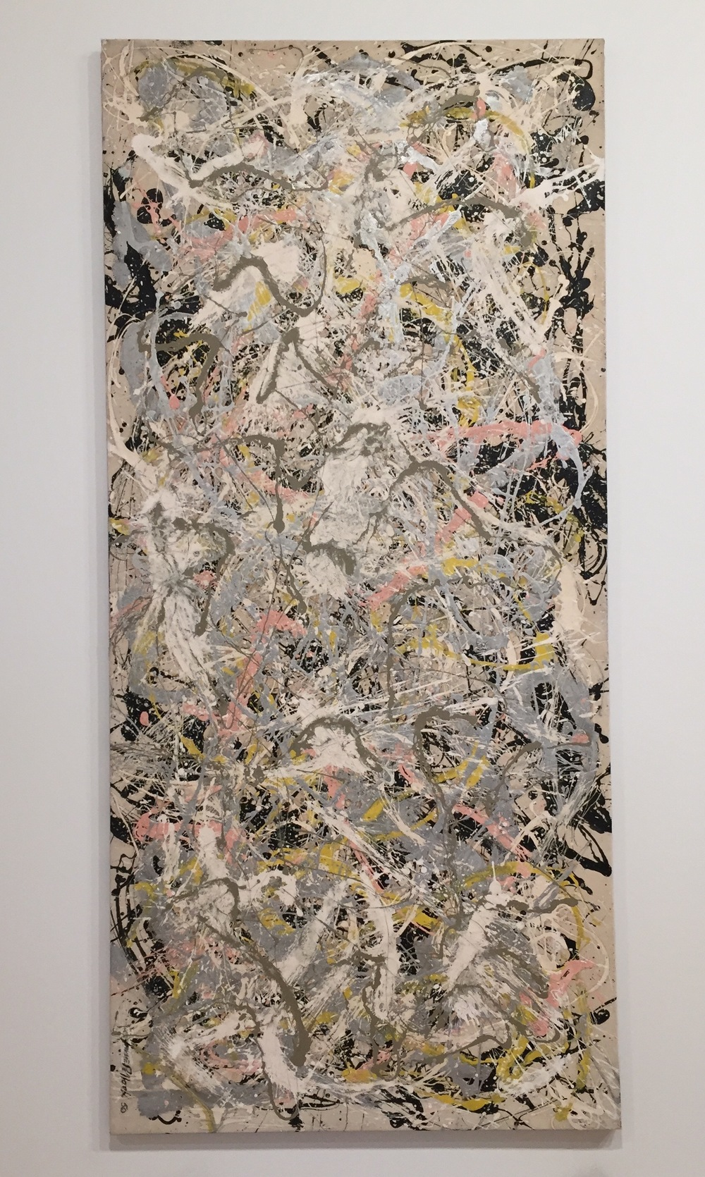I love me some Jackson Pollock.