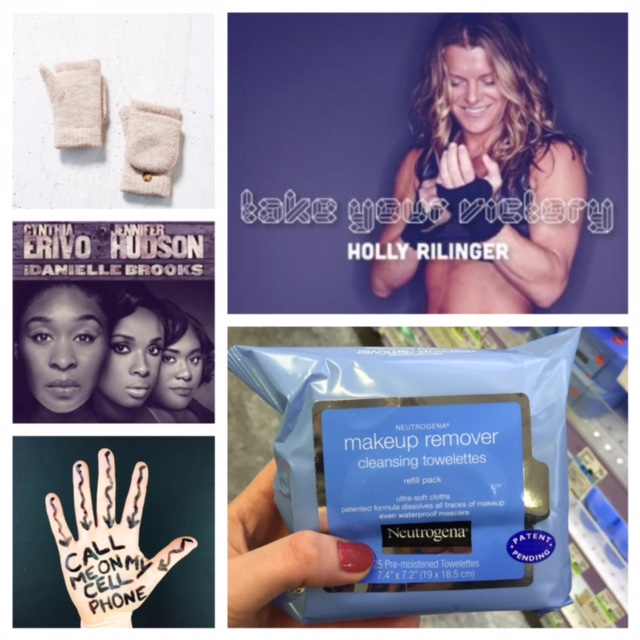 Sources: urbanoutfitters.com, Broadway.com, @whatimholding (shameless self-promotion), Holly Rilinger's Instagram