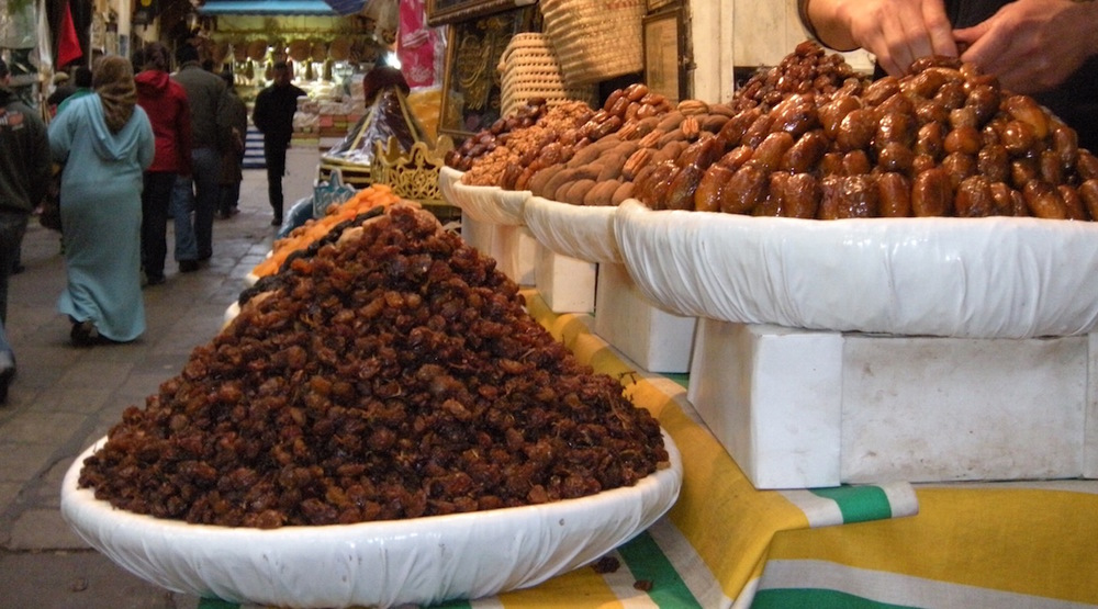 The dried fruit and nut selection in Morocco was unreal. We NEVER got sick of stalls like this one.