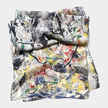 MoMa Jackson Pollock White Light Scarf.jpg