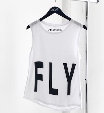 """I just want to fly..."" I can buy this and say it's just the verb right? IG:  @flywheelsports"