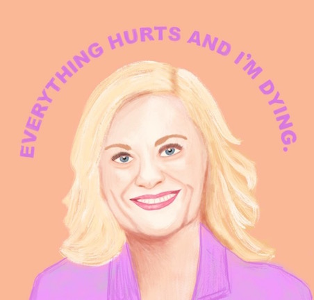 A friend of mine always told me I was Leslie. PC:  @britandco , design by  @sarahliztate
