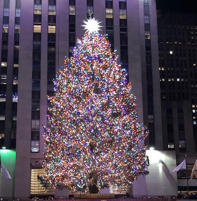 2018 Rockefeller Center tree