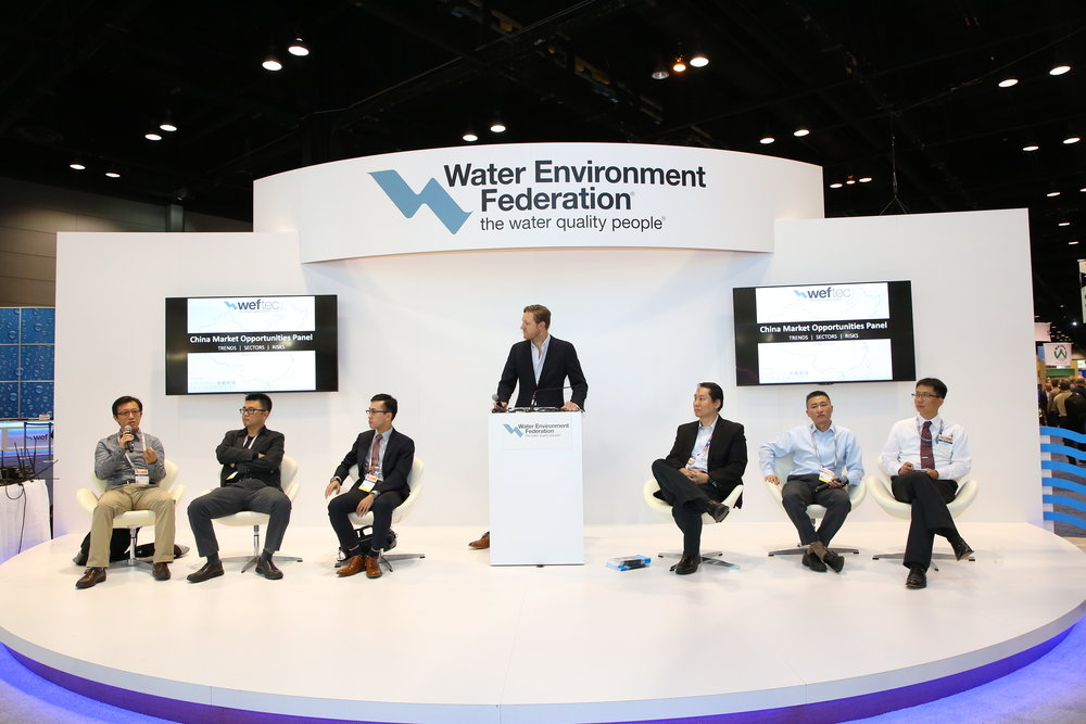 WEFTEC and water industry consultant, Mandarin Environment welcomed guests to the 6th annual China Market Opportunities Panel