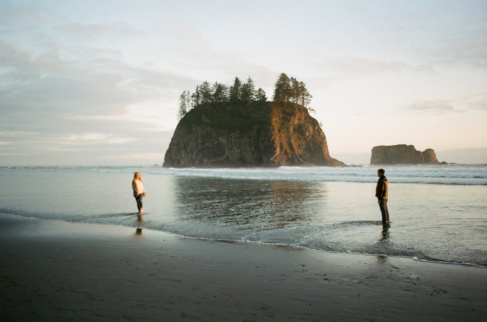 la push sunsetengagement -