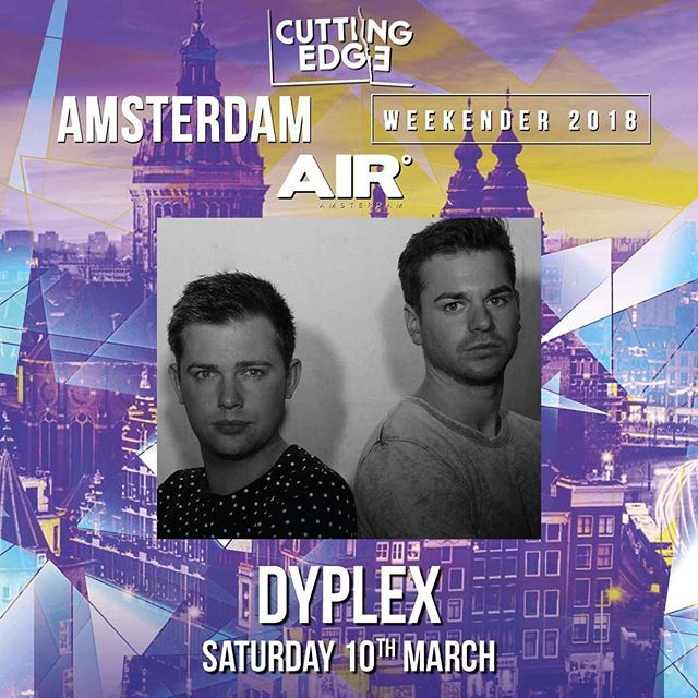 Next Saturday! 💥 @cuttingedge_ldn @airamsterdam . . . . . . . . . #buzzing #excited #blessed #dance #amsterdam #house #housemusic #party #tech #techhouse #massive #gunnabebig #getonit #dj #djduo