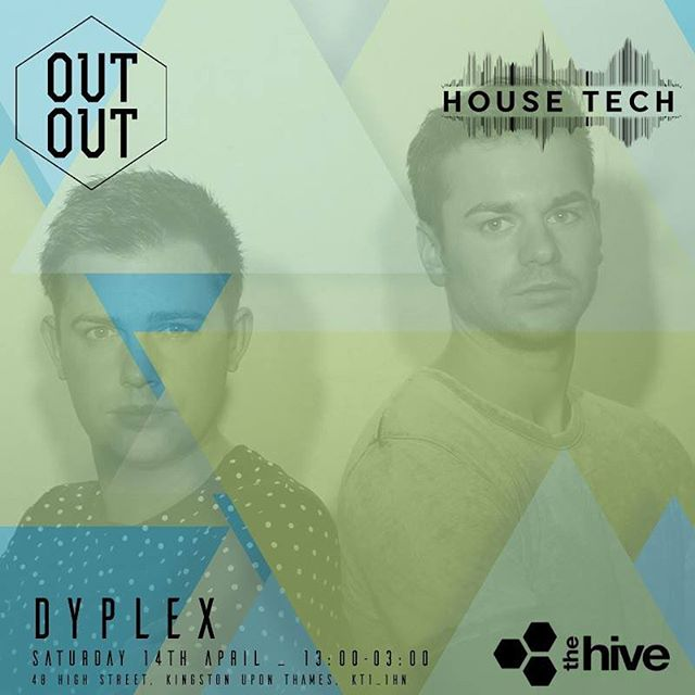 Today's the day! Catch us 6:20-7:40 tonight at @thehivekingston with the @housetechradio and @out_out_promo crew! 🙌🏽🎉🕺💃 . . . #house #party #weekednd #weekendvibes #saturday #dayparty #london #housemusic #techhouse #techhousemusic #dj #djduo