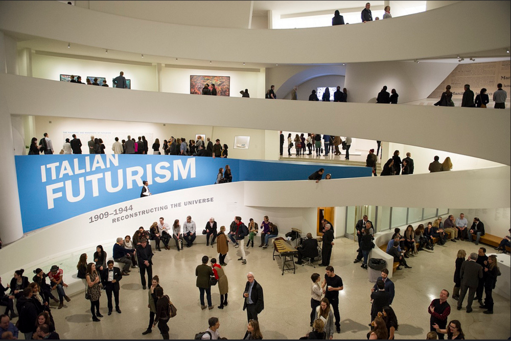 Italian Futurism at the Guggenheim Museum - NY