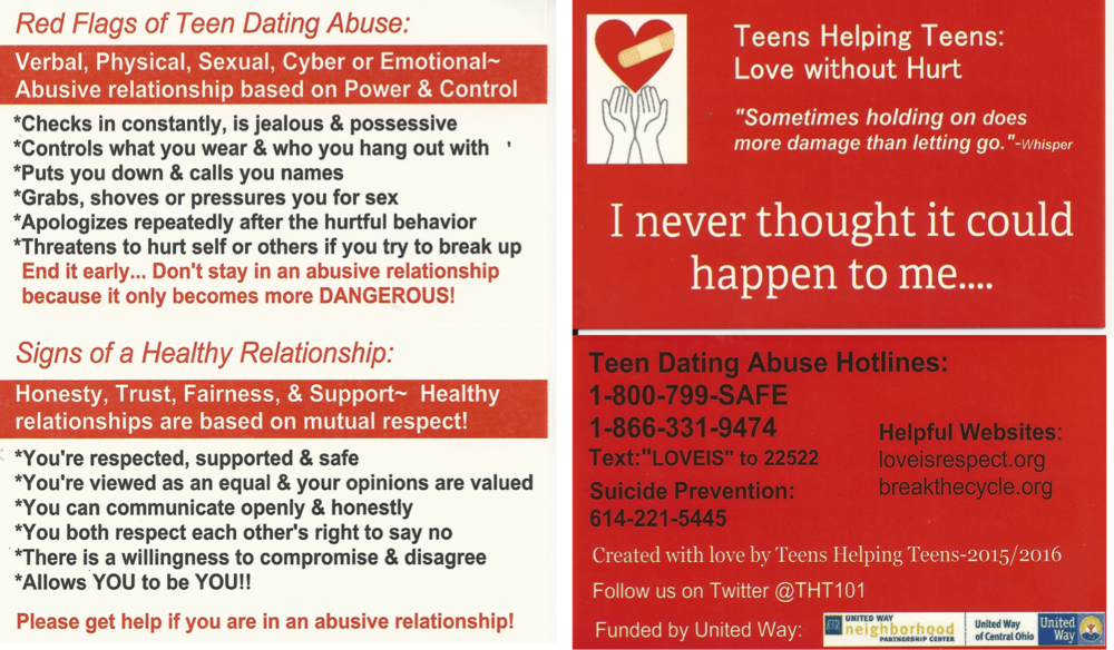 Healthy dating for teens