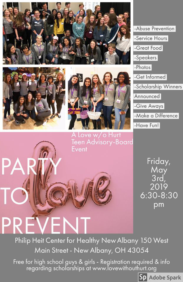 Register today! - www.partytoprevent2019.eventbrite.comor click on the button below to go to registration page
